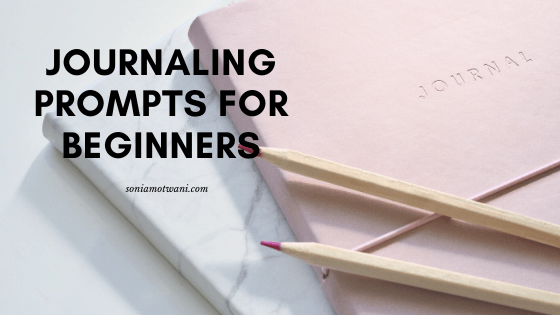 journalingg prompts for beginners